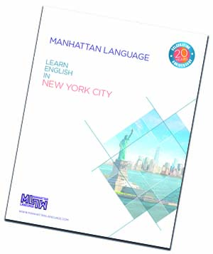 Manhattan Language brochure 2020 language school new york