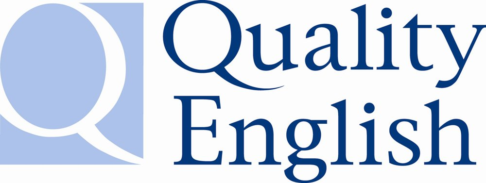 Quality English logo- english school nyc